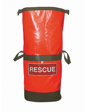 Rescue Bag Rolltop Red+PPE I'D